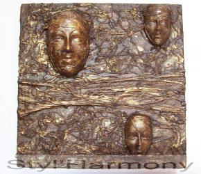 Tableau têtes de femme en relief, ajouté dans la boutique 8