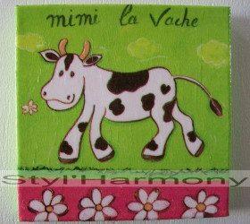 Tableau Mimi la vache. 2