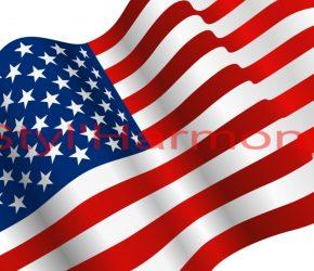 Nouveaux sets de table drapeau Américain. 8