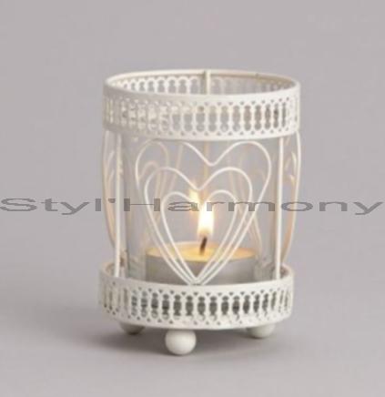 bougeoir-bougeoirs-photophore-coeur-blanc-fer-verre-déco-deco-decoration-décoration-