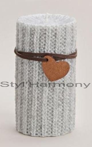 bougie-haute-gris-grise-laine-motif-deoc-decoration-design-moderne-originale-