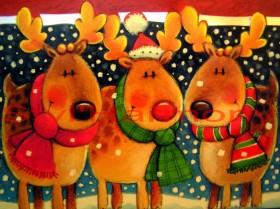 Sets de table de Noël pour les enfants. 2