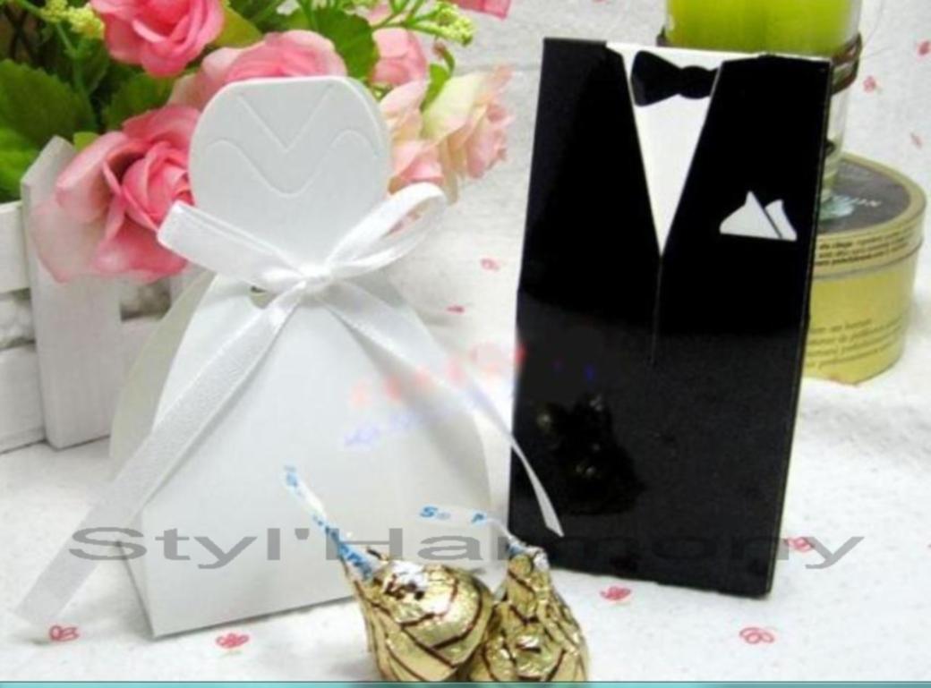 Des boites à dragées pour mariages ou baptêmes. 1