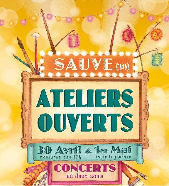 Exposition d'art à SAUVE dans le Gard du 30 Avril au 1er Mai inclus. 1