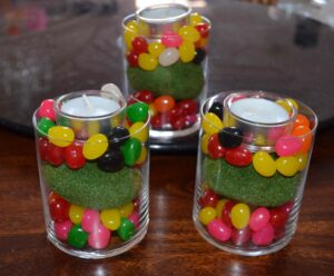 Décorations de Pâques avec de vrais bonbons 5
