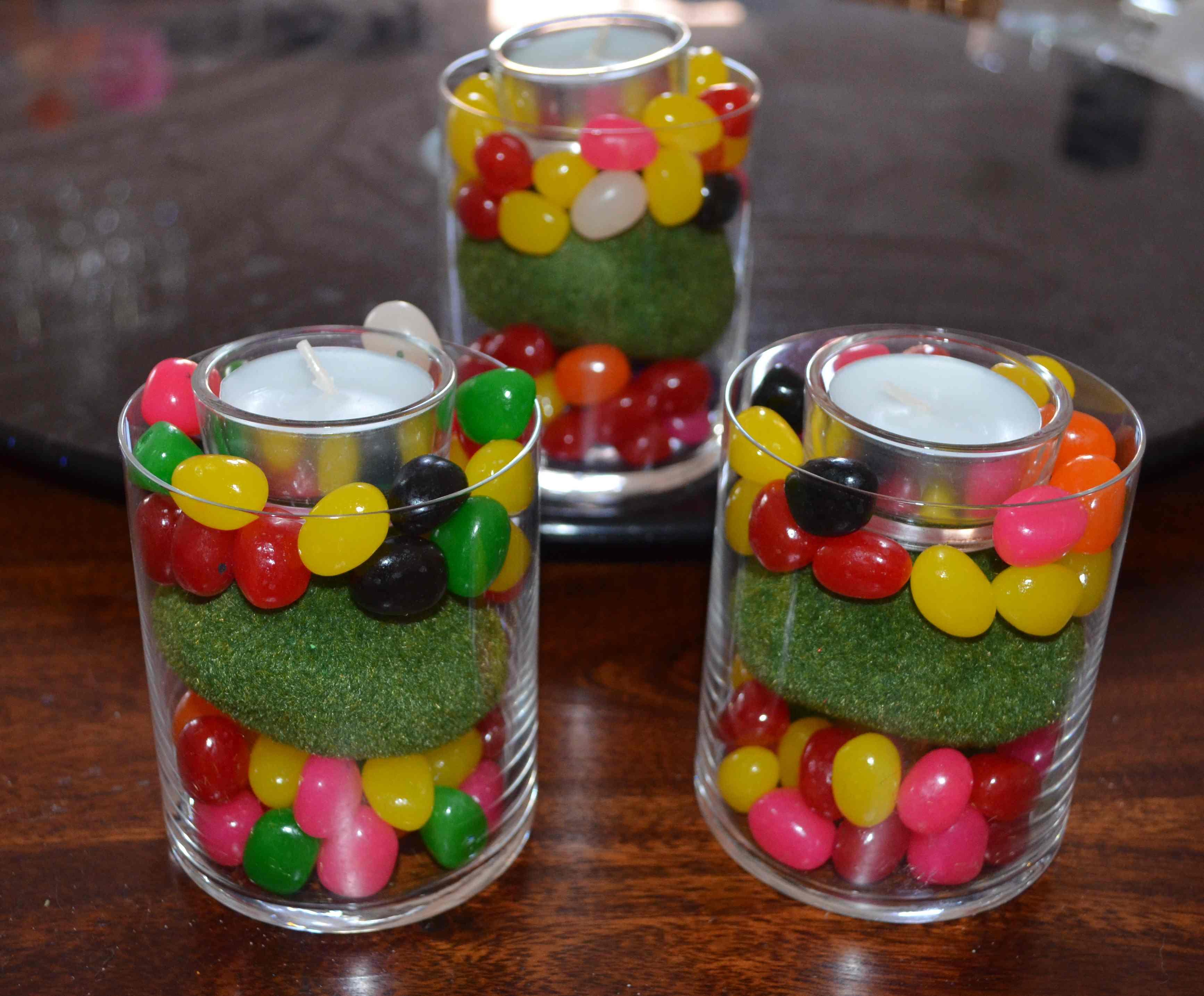 Décorations de Pâques avec de vrais bonbons 1
