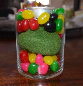 Décorations de Pâques avec de vrais bonbons 4
