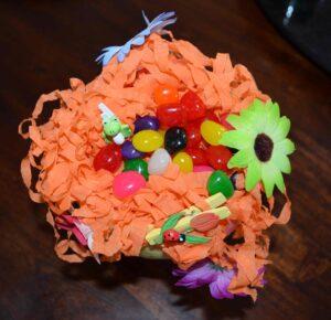 Décorations de Pâques avec de vrais bonbons 3