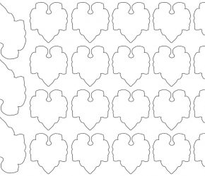 Small Leaves    Free Printables 5
