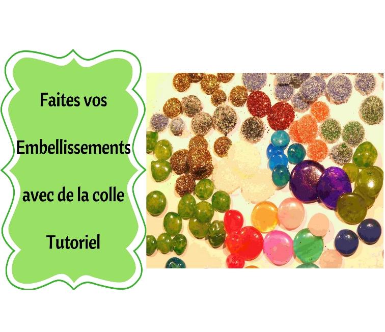 Fabriquez vos Embellissements à base de colle à chaud facile et pas cher !! 1