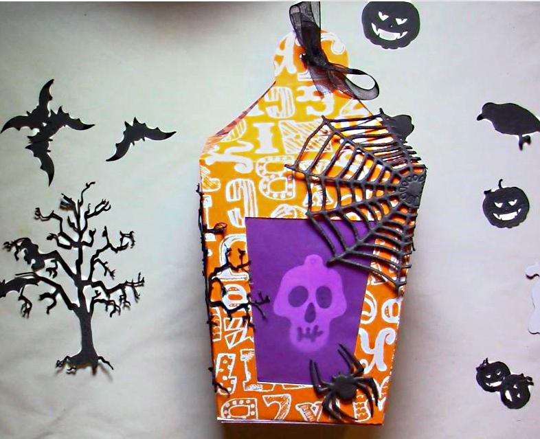 Halloween : Lanterne en Papier à Poser ou à Suspendre. 2