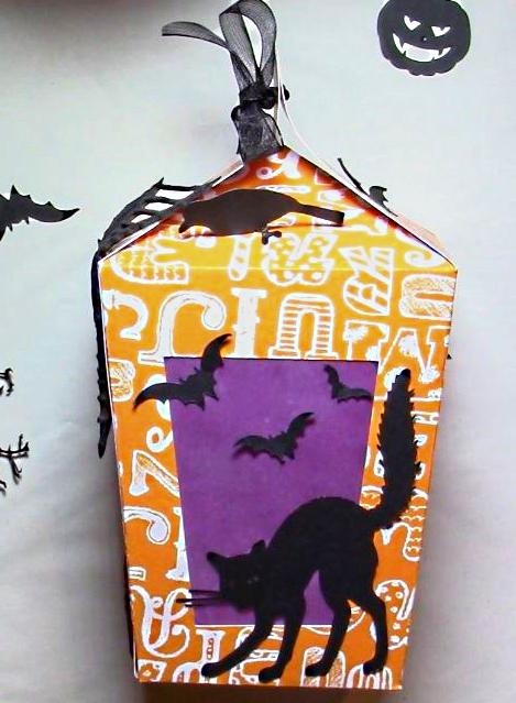 Halloween : Lanterne en Papier à Poser ou à Suspendre. 1